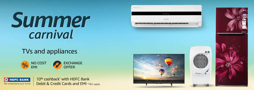 Amazon HDFC Bank TV Offer
