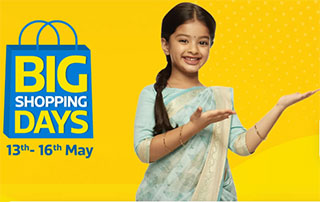 Flipkart Big Shopping Days – Up to 70% Off on TVs & Appliances + Extra 10% HDFC Discount